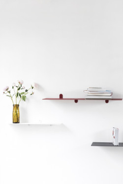 shelf n°1 red Muller Van Severen