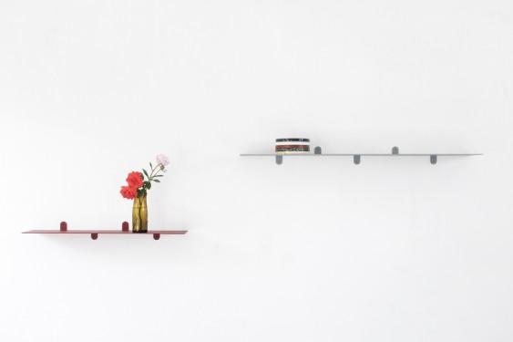 SCHAP N°1 MVS BENDED STEEL 4MM - 74X15X8 MUSTARD GELAKT Muller Van Severen