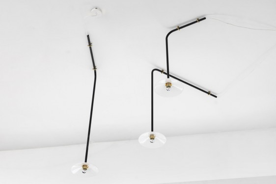 CEILING LAMP N°1 black Muller Van Severen