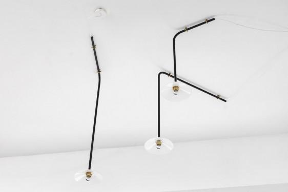 CEILING LAMP N°1 80X80 ZWART Muller Van Severen