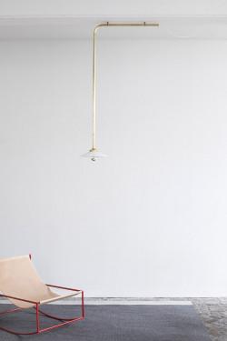 CEILING LAMP N°2 BRASS Muller Van Severen