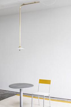 CEILING LAMP N°2 55X105 BRASS Muller Van Severen