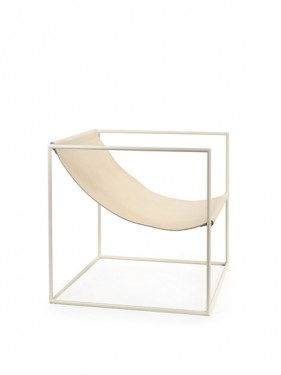 solo seat cream white_leather Muller Van Severen