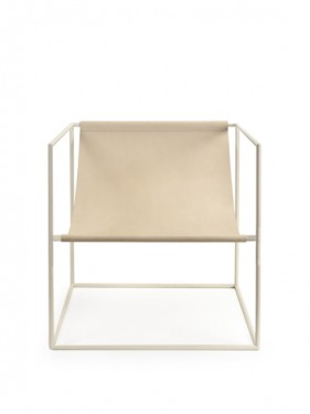 solo seat cream white_leather Muller Van Severen