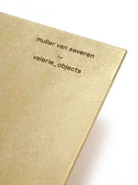 shelf n°1 brass Muller Van Severen