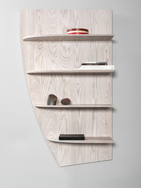 SHELF ETAGE LARGE ASHWOOD LIGHT GREY Destroyers Builders
