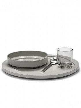 HIGH PLATE LIGHT GREY Maarten Baas