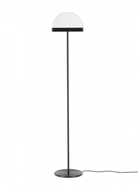 FLOOR LAMP BLACK HALO Maarten De Ceulaer