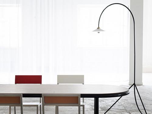 WOODEN TABLE OVAL BLACK / WALNUT Muller Van Severen
