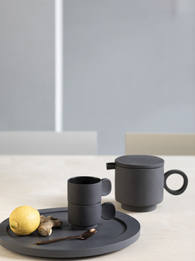 TEA POT MAARTEN BAAS GREY Maarten Baas