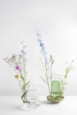 hidden vase small clear Chris Kabel