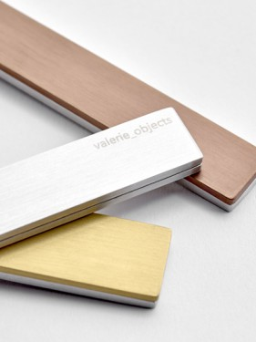 giftbox muller van severen brushed stainless steel, mix 16 pcs Muller Van Severen