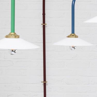 Hanging lamp n5 ivory muller van severen