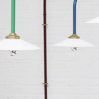 hanging lamp n°1 unlacquered steel Muller Van Severen