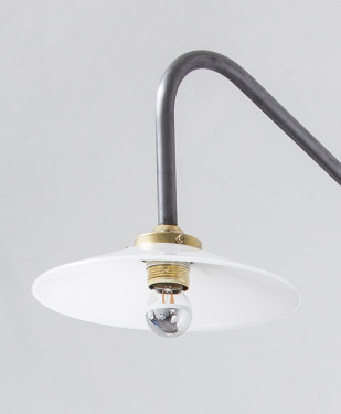 hanging lamp n°2 unlacquered steel Muller Van Severen