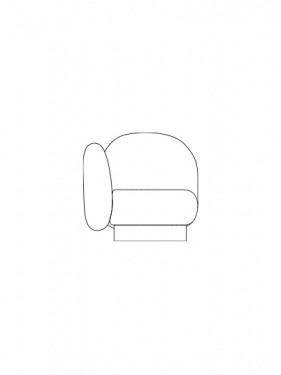 corner seat senales grey Destroyers Builders