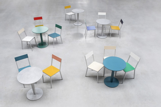 alu chair white_ivory Muller Van Severen