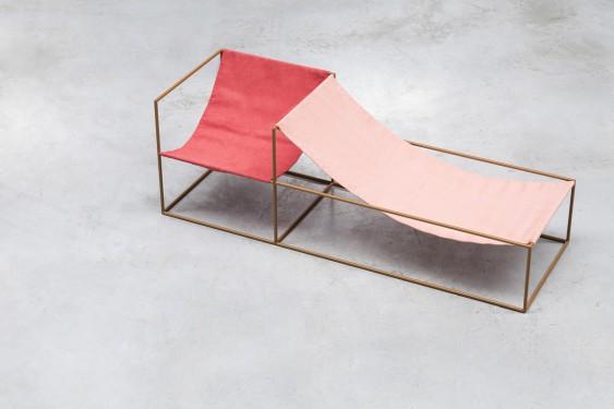 duo seat red_pink Muller Van Severen