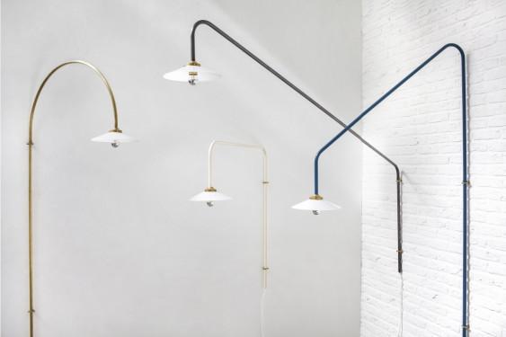 hanging lamp n°5 brass Muller Van Severen