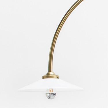 STANDING LAMP N°1 100X120 H190 BRASS Muller Van Severen