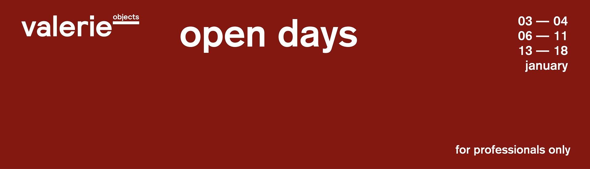 Open Days 19
