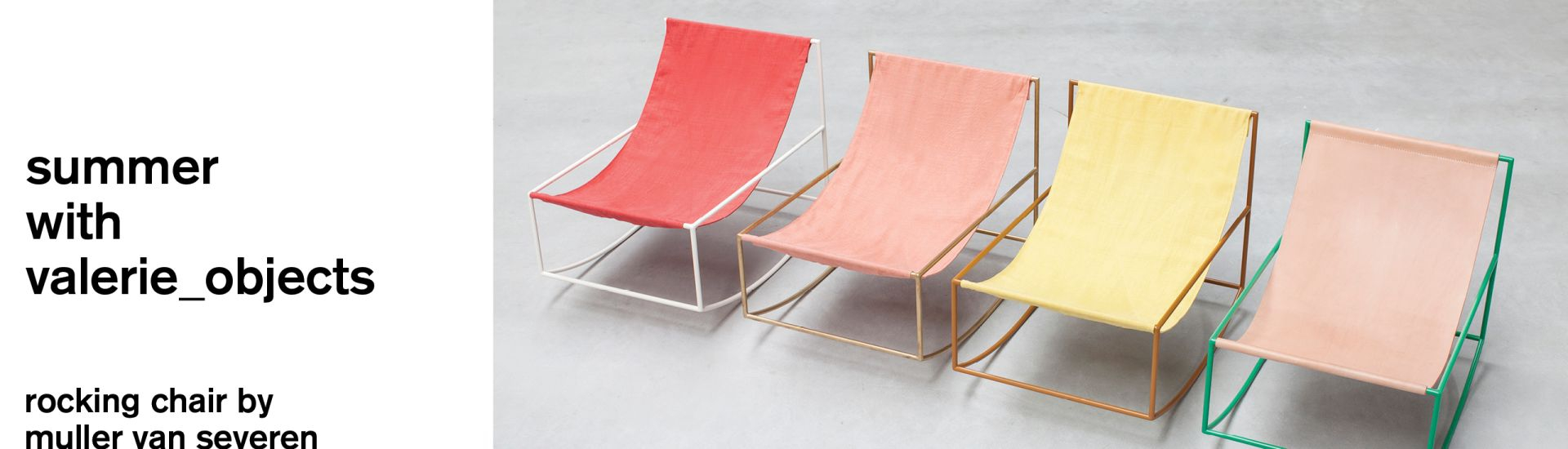 rocking chairs by muller van severen