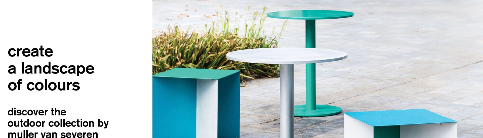 alu square and round table s by muller van severen