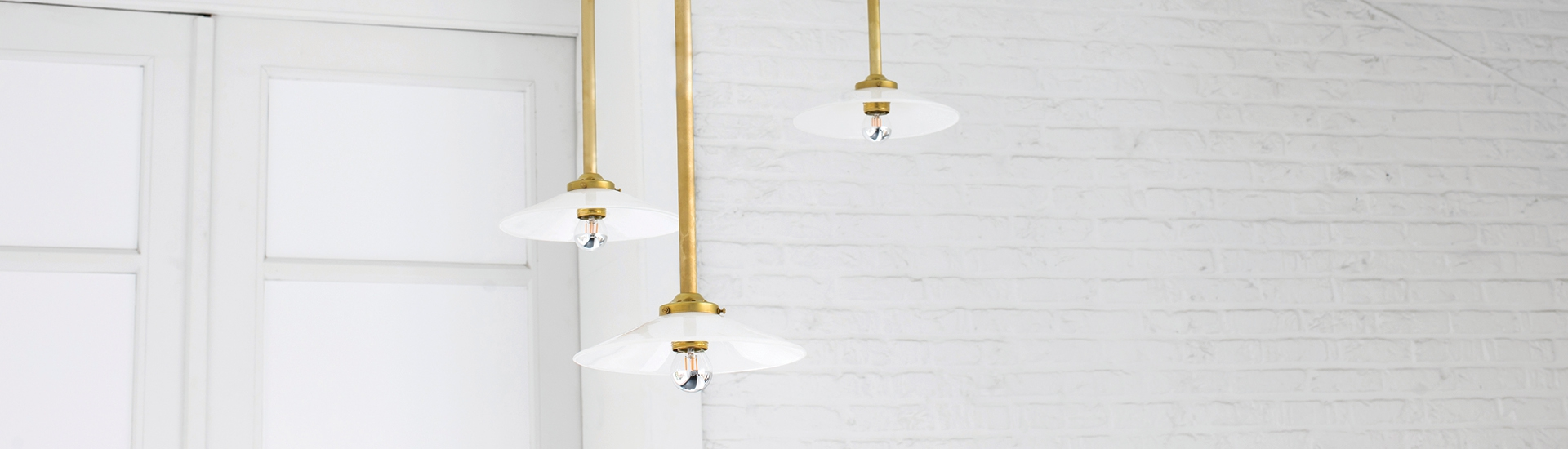 hanging lamps by muller van severen