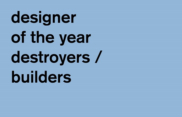 Destroyers Builders awarded designer of the year