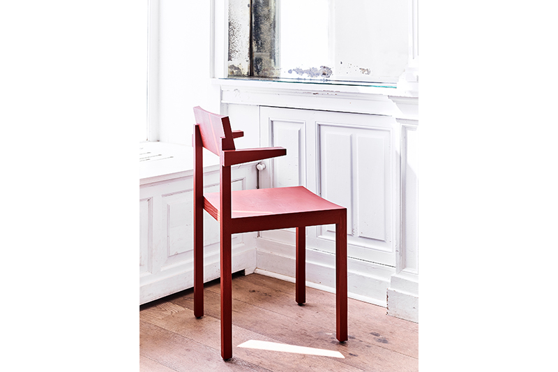 silent dining chair with armrests
