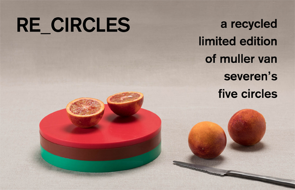 a recycled limited edition of muller van severens five circles