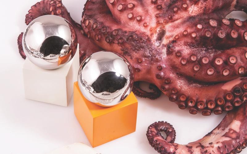 shiny table sculptures by muller van severen