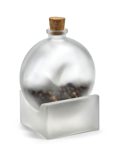 bottle of spices by nendo